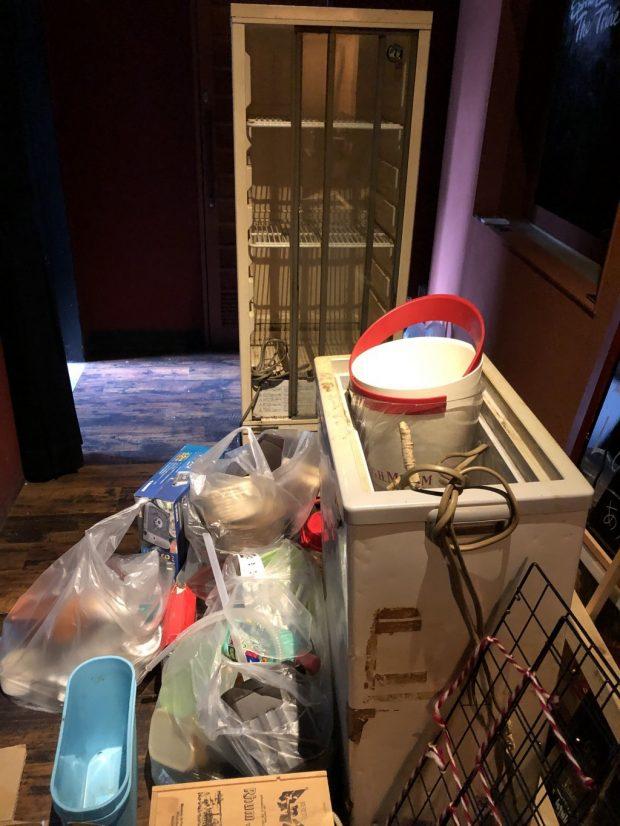 【京都市中京区】冷蔵ショーケースなどの回収 お客様の声