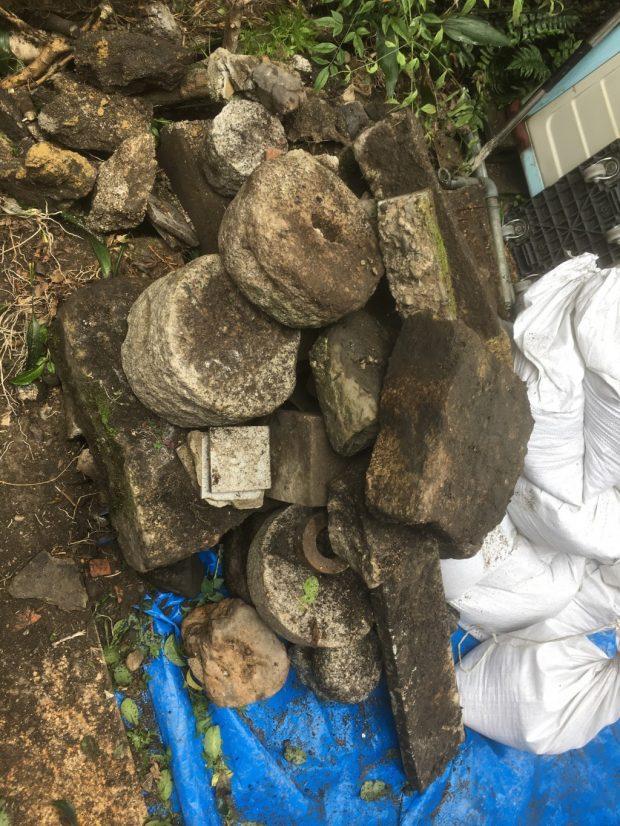 【京都市東山区】庭石の撤去・回収 お客様の声