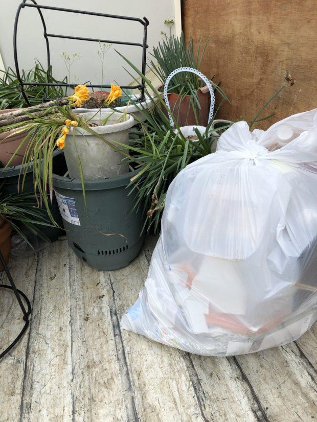 【安城市】中身の入った植木鉢などの回収 お客様の声