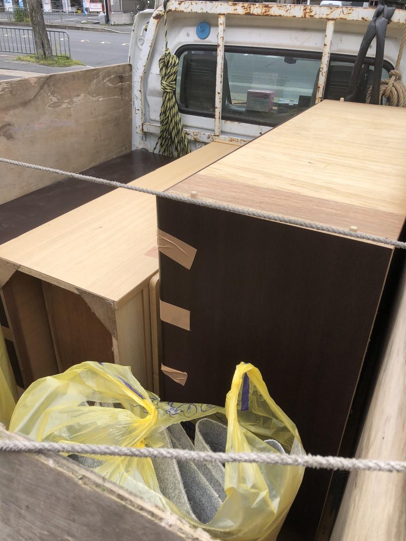 【厚真町】タンスやカーペットの回収・処分ご依頼 お客様の声