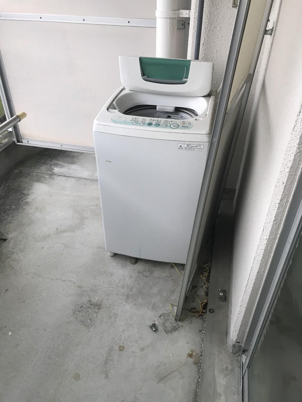 【京都市北区】洗濯機やビーズクッションの不用品回収・処分ご依頼