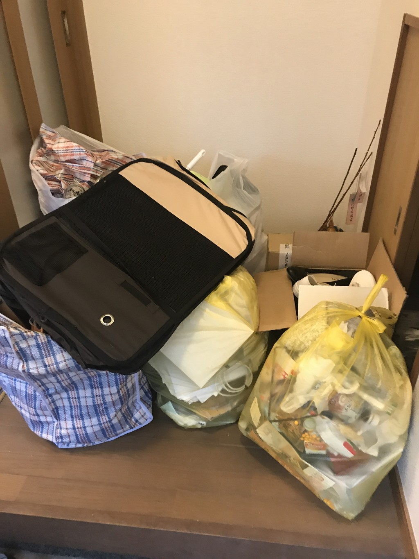 【京極町】引越しに伴う不用品回収・処分ご依頼 お客様の声