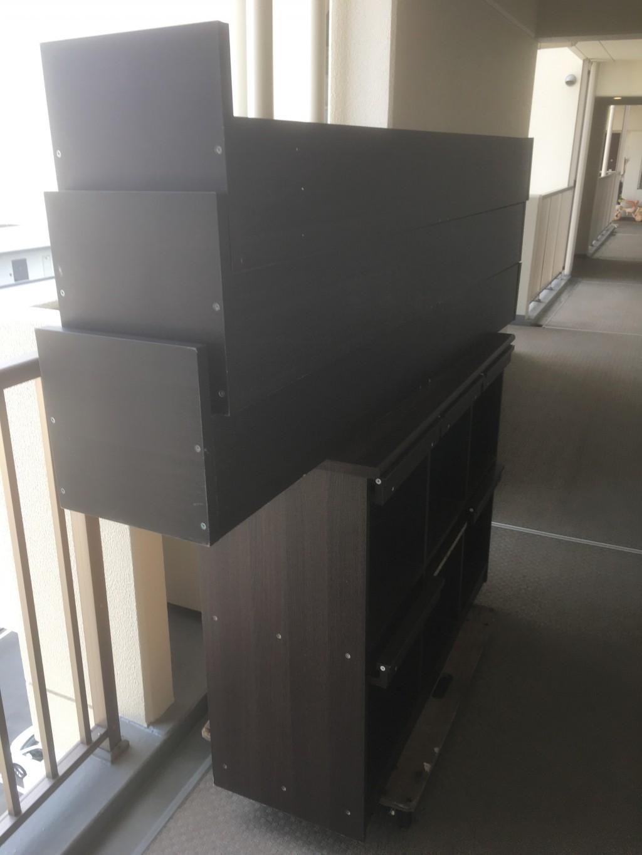 【京都市右京区】CDラックの不用品回収・処分ご依頼 お客様の声