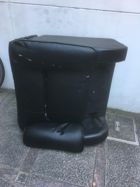 【京都市】一人掛けソファの出張不用品回収・処分ご依頼 お客様の声