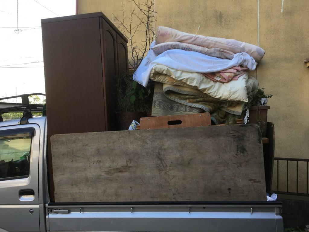 【城陽市】遺品整理に伴いタンスなどの出張不用品回収・処分ご依頼 お客様の声