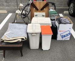 【京都市西京区】テーブル、ゴミ箱などの出張不用品回収・処分ご依頼
