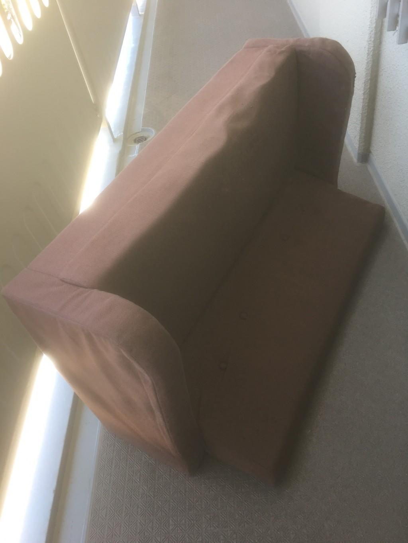 【京都市下京区】2人掛けソファーの出張不用品回収・処分ご依頼