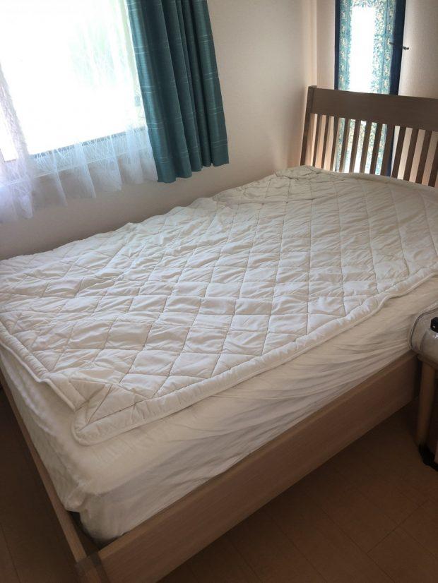 【京都市山科区】ベッド、テレビ台の回収 お客様の声