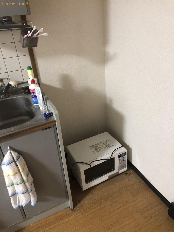 【京都市左京区】一人暮らしの不用品処分 お客様の声