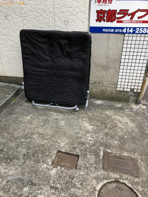 【京都市上京区】折りたたみベッドの処分 お客様の声