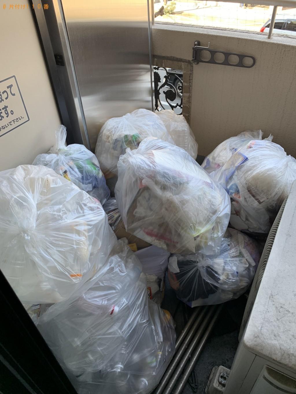 【京都市左京区】軽トラ1台分の引越し不用品回収ご依頼 お客様の声