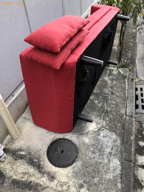【京都市北区】折り畳みベッド等の処分 お客様の声