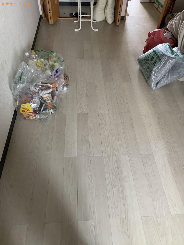 【京都市】セミダブルマットレスと家庭ごみの処分 お客様の声