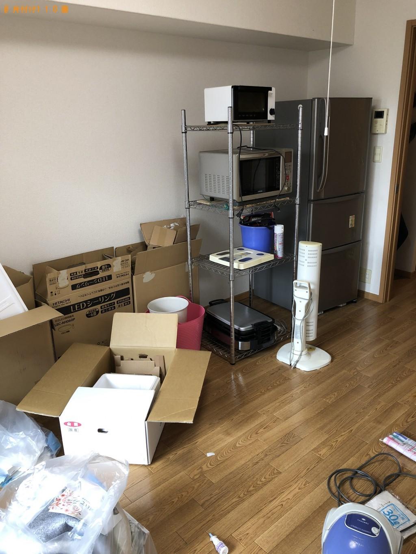 【京田辺市】冷蔵庫、洗濯機、電子レンジなどの出張不用品回収・処分ご依頼