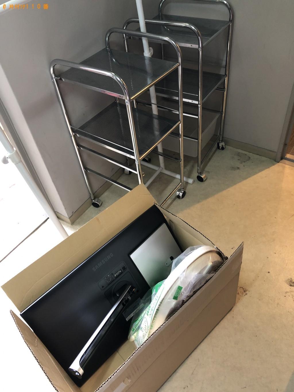 【京都市左京区】PCモニター、ラック、ウォシュレットの出張不用品回収・処分ご依頼