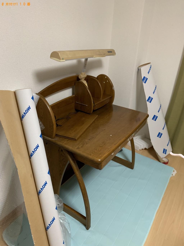 【京都市右京区】学習机の出張不用品回収・処分ご依頼