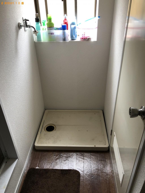 【長岡京市滝ノ町】洗濯機と電子レンジの処分 お客様の声