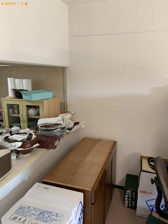 【京都市北区】引っ越しに伴う不用品回収・処分 お客様の声