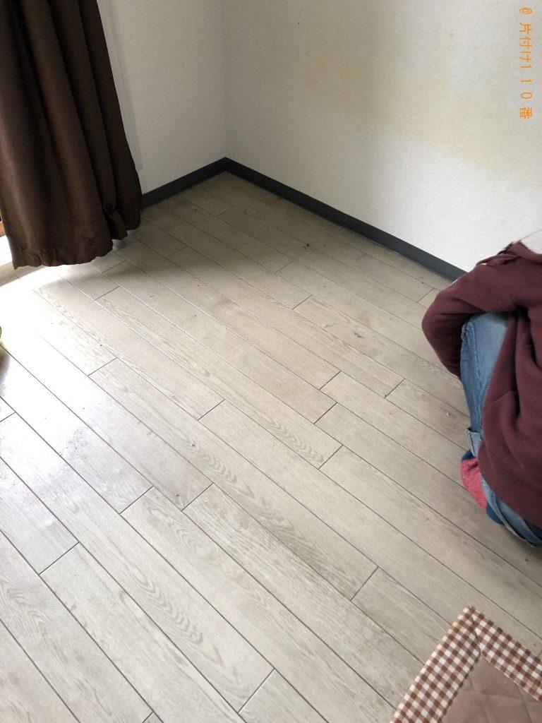 【御代田町】シングルベッド、棚、衣類等の回収・処分 お客様の声