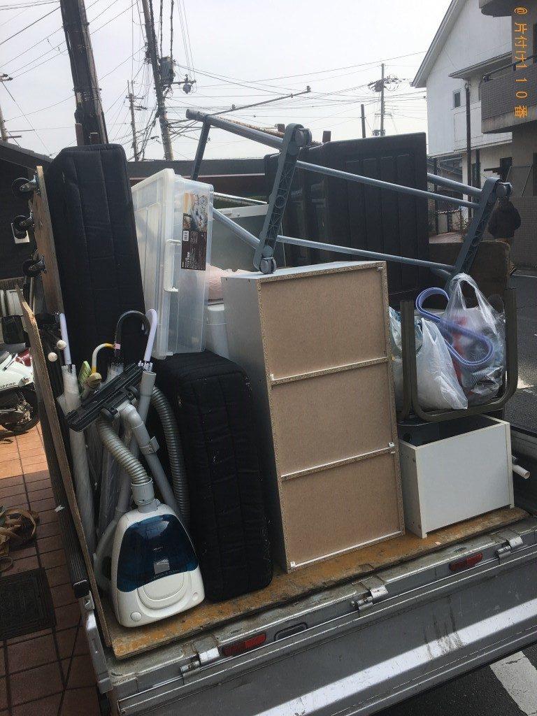 【蕨市】軽トラ1台分の不用品回収・処分ご依頼 お客様の声