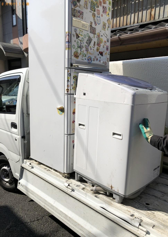 【京都市中京区】冷蔵庫、洗濯機の運搬・処分ご依頼 お客様の声