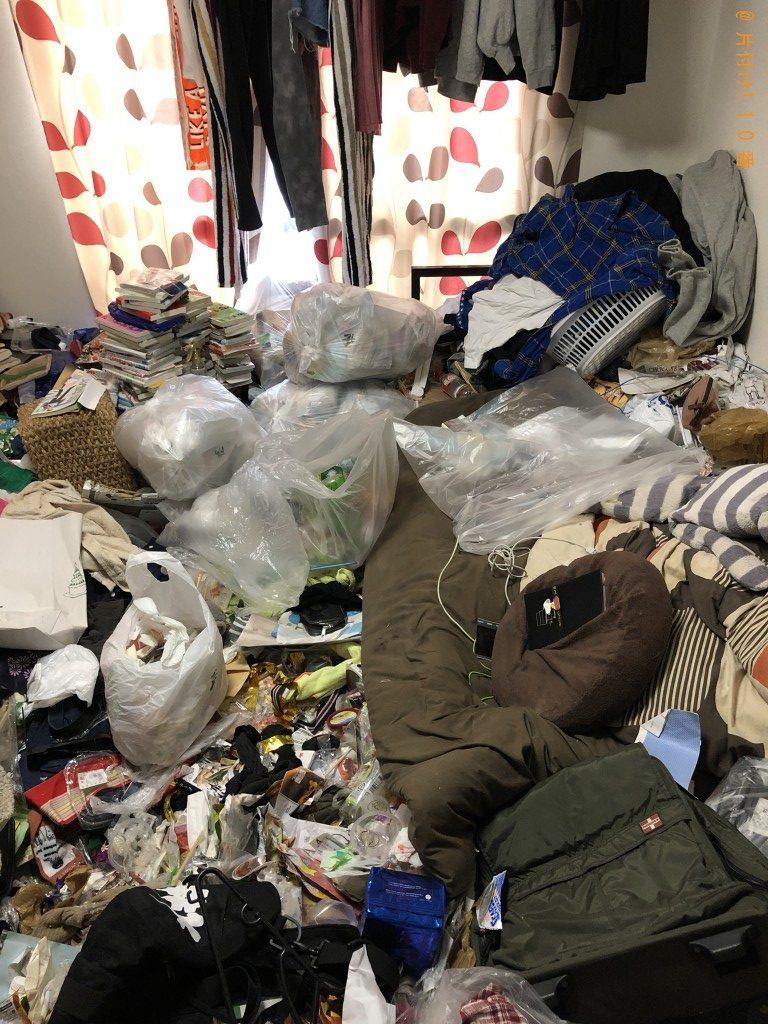 【富士見町】シングルベッド、テレビ、家庭ごみの回収・処分 お客様の声