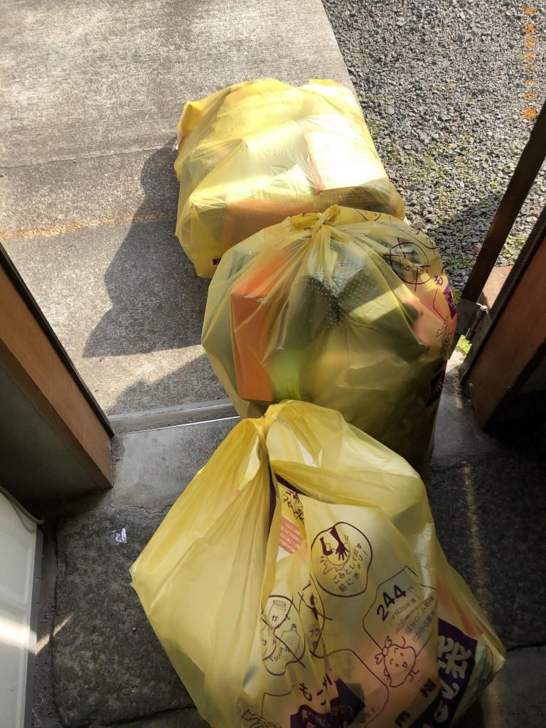 【飯山市】衣類の出張不用品回収・処分ご依頼 お客様の声