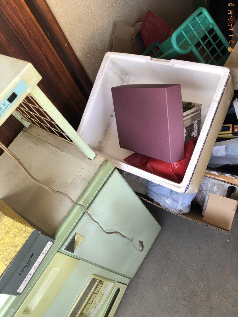 【京都市西京区】米びつ付き食器棚、家庭ごみ等の回収・処分 お客様の声