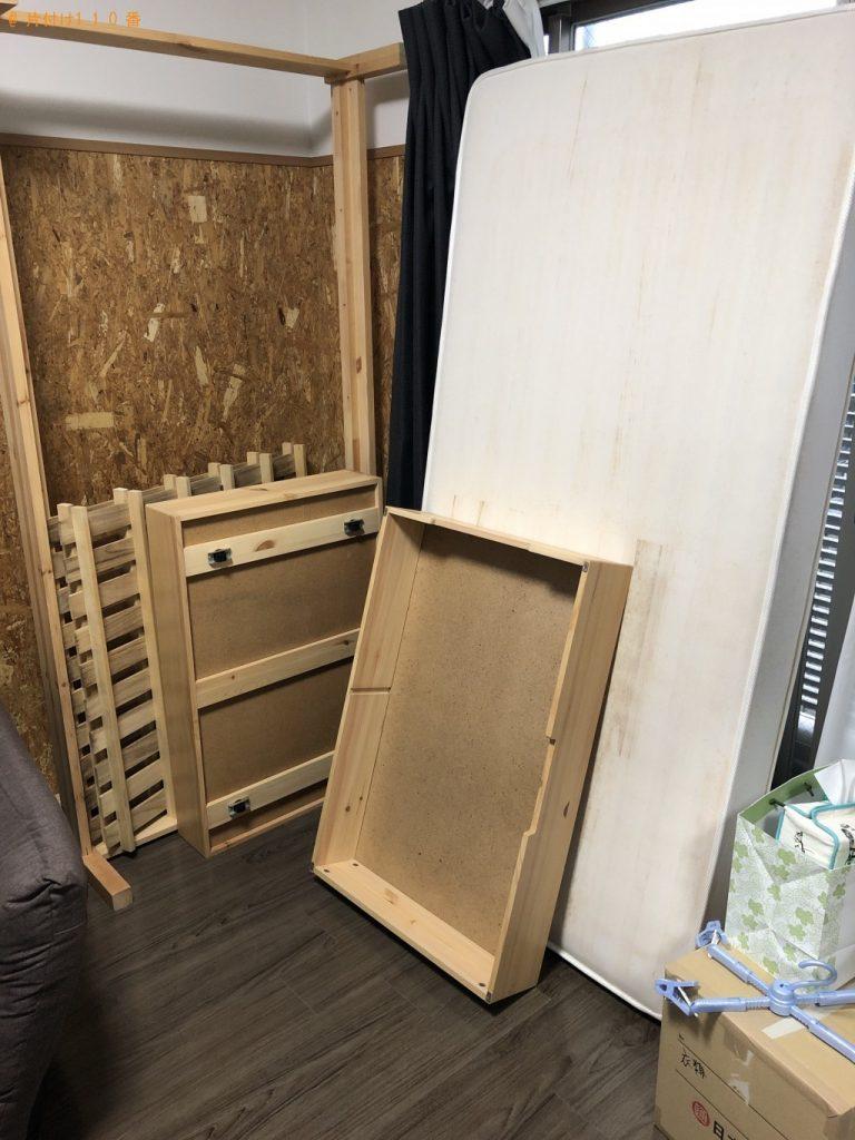 【朝霞市】テーブルとベッドの出張回収・処分ご依頼