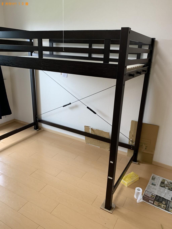 【糸魚川市】冷蔵庫、洗濯機、ロフトベッドなどの出張不用品回収・処分ご依頼