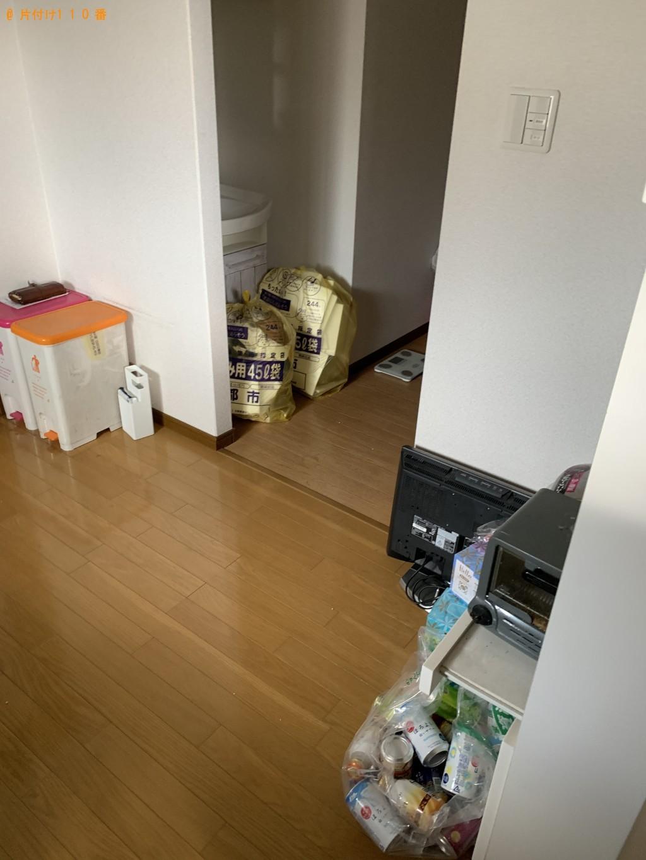 【京都市上京区】ソファー、テレビ台、扇風機等の処分 お客様の声