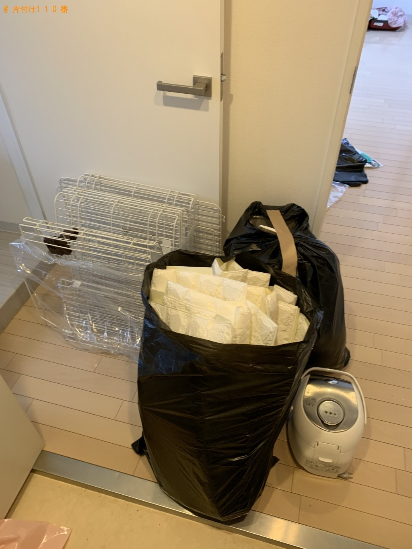 【枝幸町】炊飯器、ペット用品、壁紙の回収・処分 お客様の声