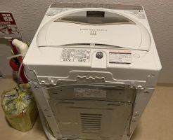 【京都市上京区】洗濯機1点の回収・処分 お客様の声