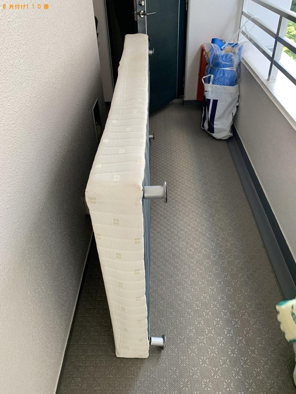 【京都市上京区】シングルベッド1点の回収・処分 お客様の声
