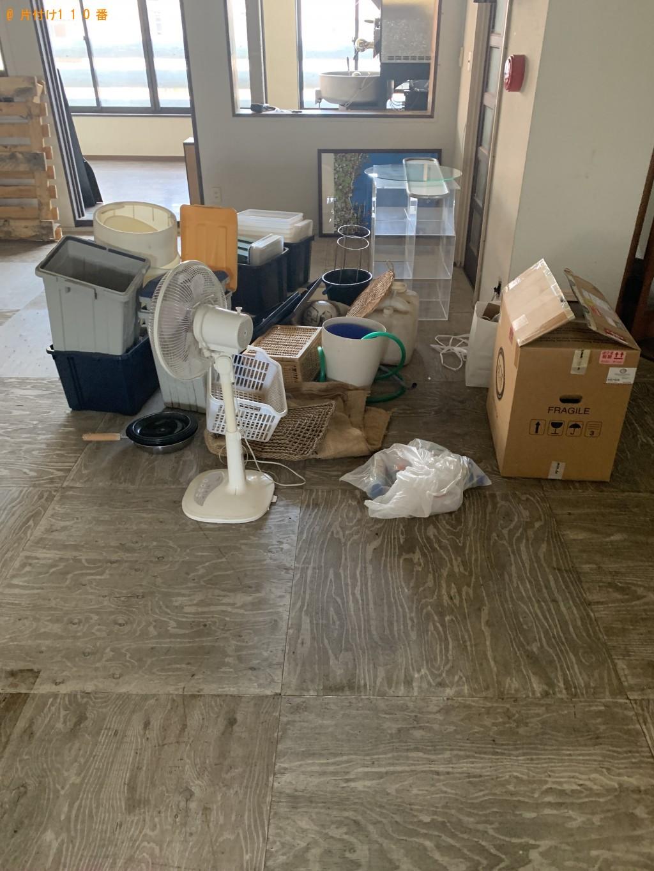 【海老名市】棚、木材、扇風機などの出張不用品回収・処分ご依頼