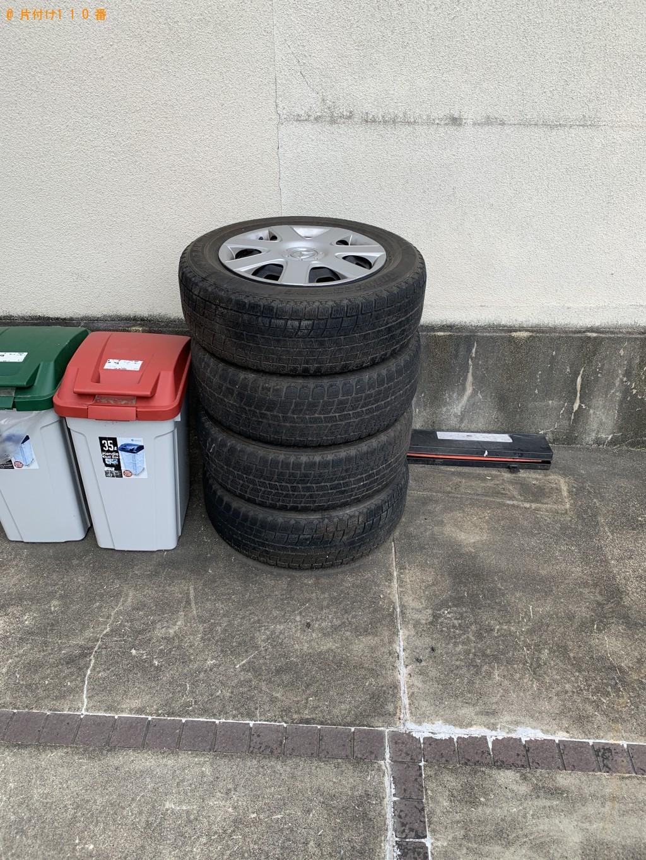 【京都市左京区】ホイール付き自動車タイヤの回収・処分 お客様の声