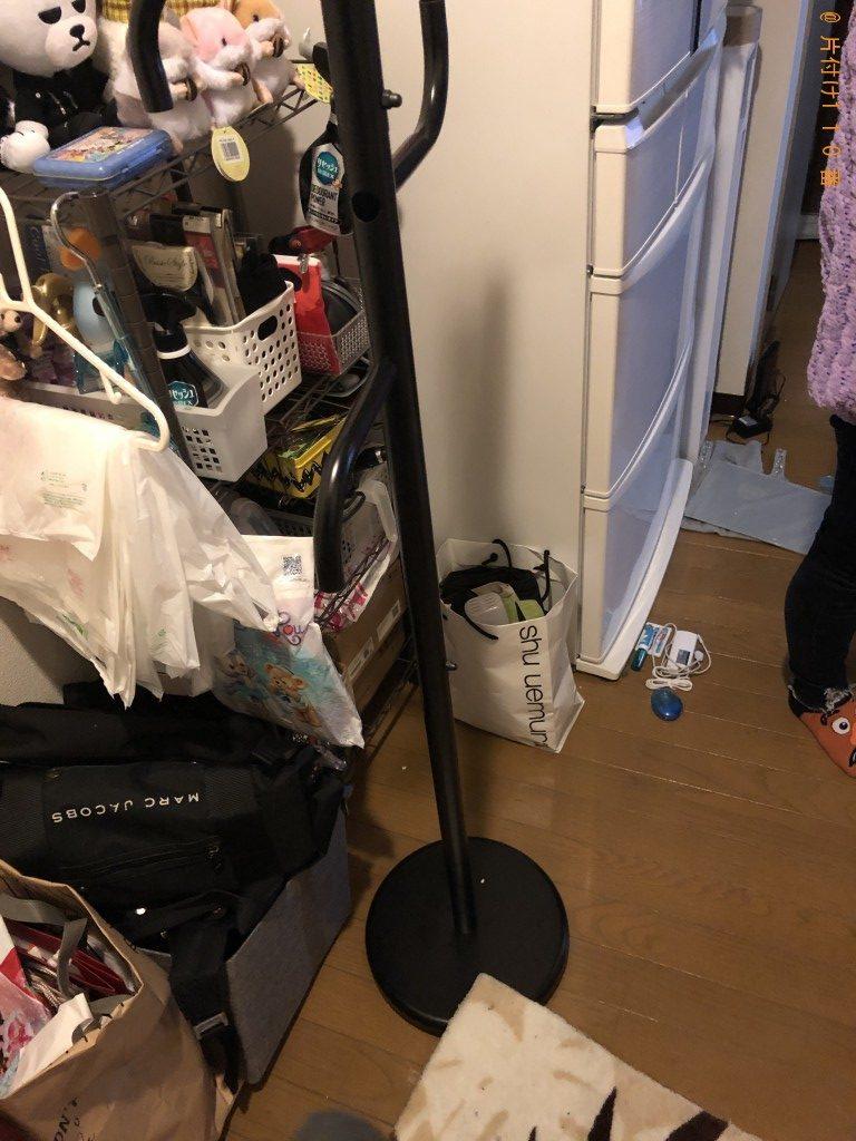 【京都市伏見区】ハンガーラック1点の回収・処分 お客様の声