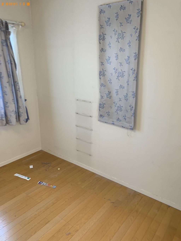 【京都市左京区】シングルベッド、学習机セット、棚等の回収・処分 お客様の声