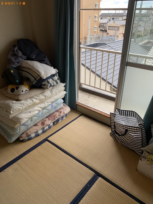 【京都市中京区】シングルベッド、ソファー、冷蔵庫等の回収・処分 お客様の声
