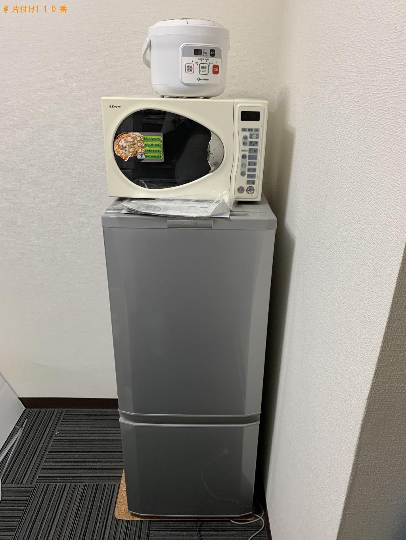 【京都市中京区】冷蔵庫、洗濯機、電子レンジ等の回収・処分 お客様の声
