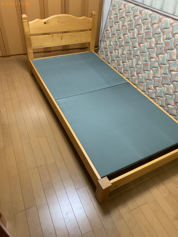 【厚木市】シングルベッド、マットレス、タンスの回収・処分 お客様の声