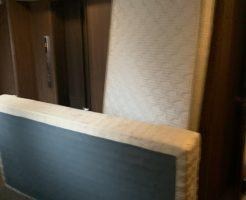 【京都市下京区】シングルベッド2点の回収・処分 お客様の声