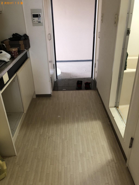 【京都市伏見区】洗濯機、電子レンジ、ローテーブル等の回収・処分 お客様の声