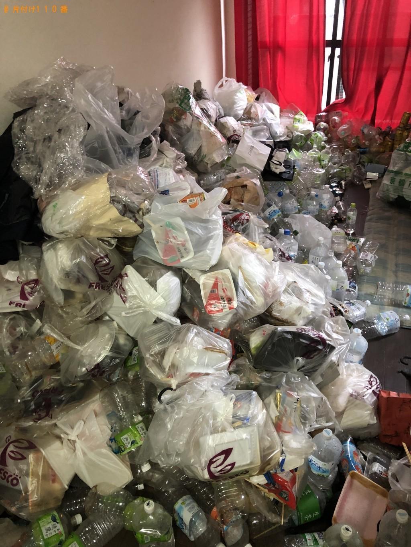 【上富良野町】大量の家庭ごみ、カーテン、布団の回収・処分 お客様の声