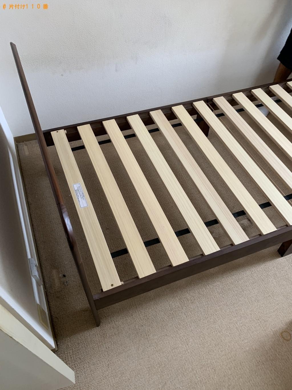【京都市右京区】シングルベッド1点の回収・処分 お客様の声