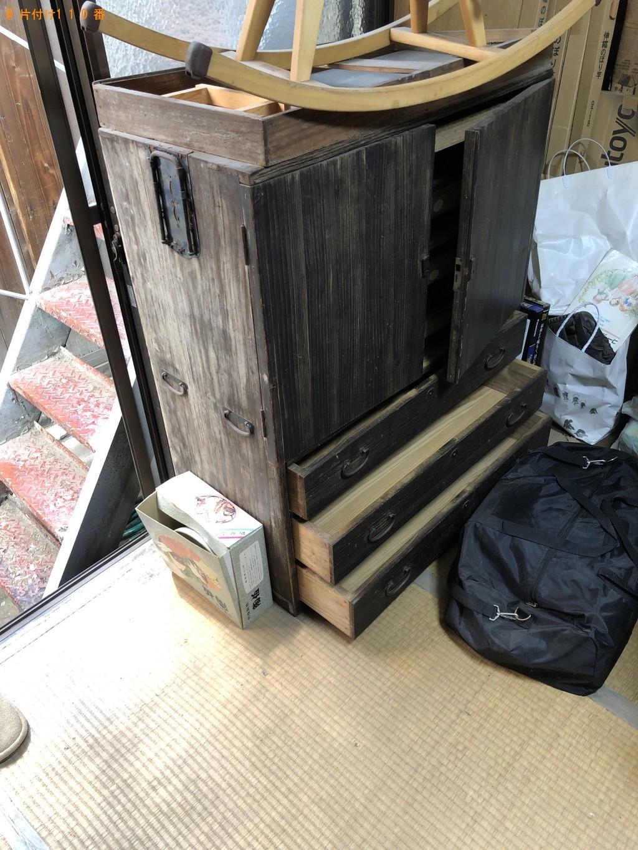 【京都市中京区】整理タンス5点の回収・処分 お客様の声