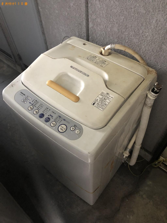 【京都市南区】洗濯機1点の回収・処分 お客様の声