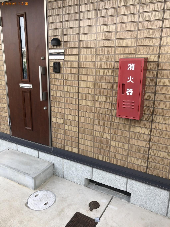 【京都市伏見区】食器棚1点の回収・処分 お客様の声