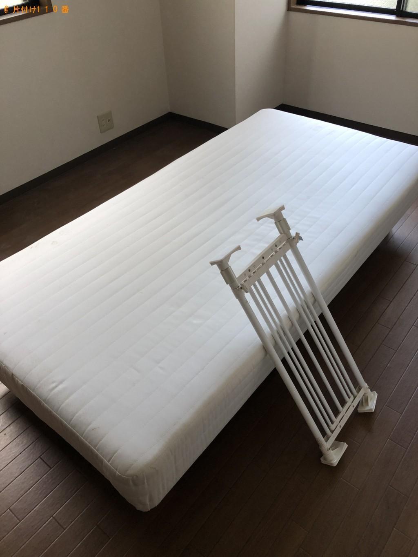【倶知安町】シングルベッド、冷蔵庫、ガスコンロ等の回収・処分 お客様の声