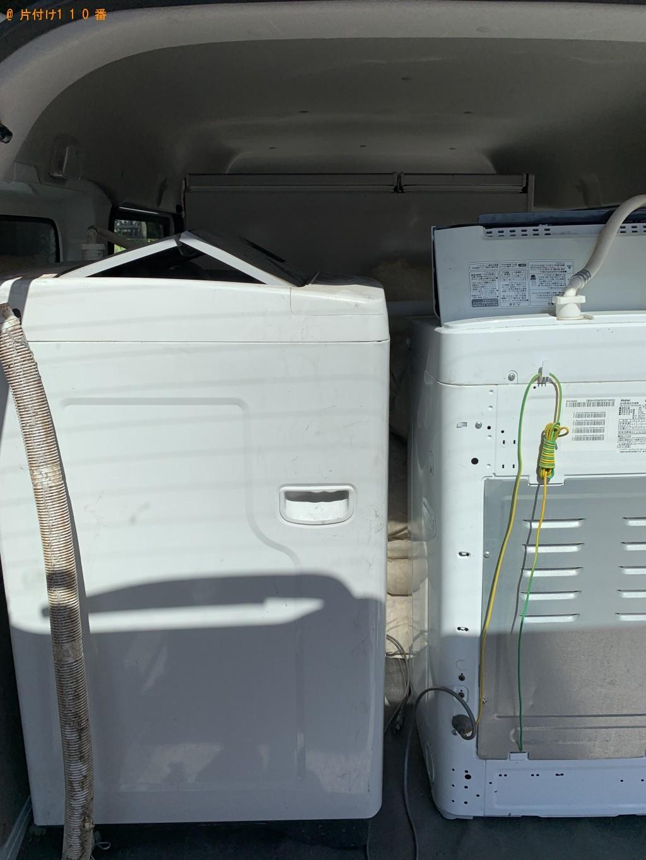 【京都市東山区】冷蔵庫と洗濯機の回収・処分 お客様の声